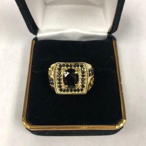Other - Black & Gold Ring